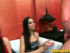 HardSexTube - Amateur Blonde Eats Stripper Jizz