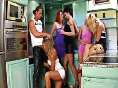 Unisex bachelor party turns bisexual ...