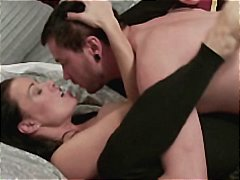 Nuvid - Brunette mom gets seduced by son's friend and gets drilled