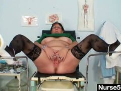 PornerBros - Mature bbw wife is fingering her fat pussy