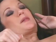 Big tit milf fucking her toy boy in a hotel room