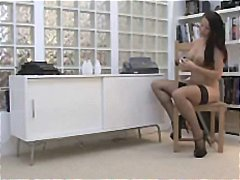 Nuvid - Busty blonde babe Nikita licks his cock and takes it from ass to mouth