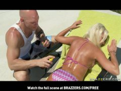 Keez Movies - MATURE BLONDE CHEATING MILF WITH NATURAL-TITS FUCKS OUTDOORS