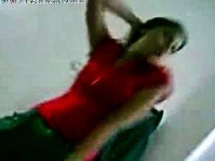 Desi Hostel Girl is dancing like a wh...