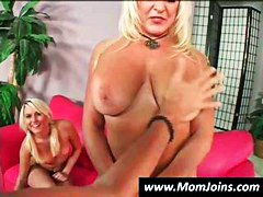 Mother and daughter are a tag team du...