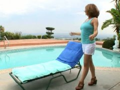 Amatuer Horny Housewife Lonely Mastur...