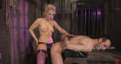 HardSexTube - Jason gets heavy flogging while in chastity