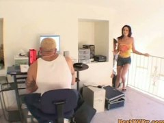 Keez Movies - Anal cock rider finds two cocks
