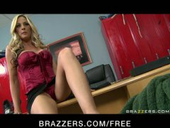 Keez Movies - BIG TIT BLONDE MILF SCOUT FUCKED DOGGY STYLE BY PLAYER & SQUIRTS