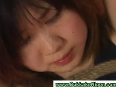 Real amateur japanese teen gets bukka...