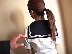 PornerBros - Slut schoolgirl sucks cock and gets tit fucked