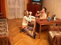 PornHub - drunk russian girl