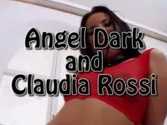 Tube8 - Claudia Rossi and Angel Dark perfect anal cumslaves