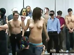 Keez Movies - BUSTY GIRL AT CZECH GANG BANG PARTY