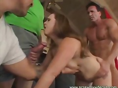 Tube8 - Hubby Watched An Awesome Threesome
