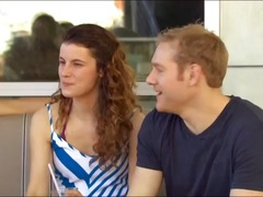 New young couple goes to a swingers p...