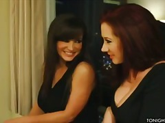Jayden Jaymes and Lisa Ann dress up i...