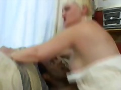 Xhamster - Granny Blonde fuckin young Bbc