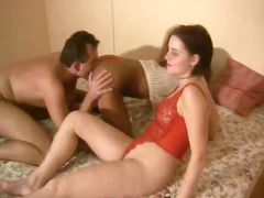 threesome, amateur, blowjob, brünette, deutsch, interracial, frivol, dreier, lesbisch