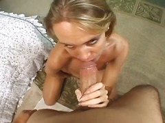 PornerBros - Pussy playing mom rides thick cock down wet ass