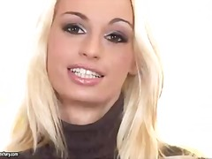 Busty blonde erica fontes playing wit...