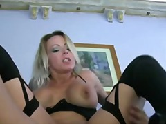 Mature mom's porn audition