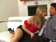 PornSharia - Dirty and really horny blonde milf