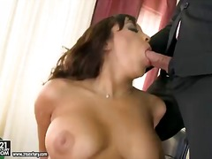 Pornoid - Dirty secretary is getting double penetrated