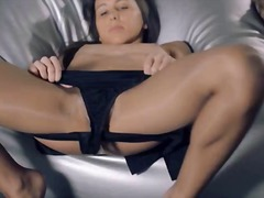 DrTuber - Women in pantyhose fucking with strap on