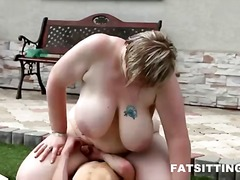 Femdom with sadictic 100kg girl
