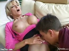 Hot older etiquette teacher fucks tee...