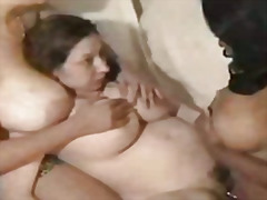 Big tit threesome