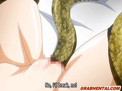 Bigboobs hentai coed gets drilled all...