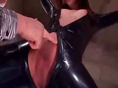 Bdsm pettings for asian in latex