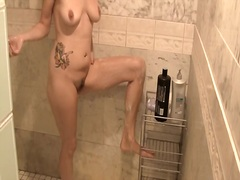 Private Home Clips - My hottie shaving her pits and legs