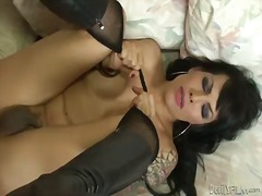 Dirty transsexual sex video with shem...