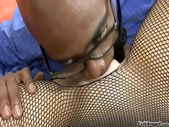 Interracial pounding with eva f and s...
