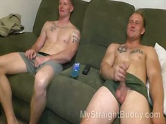 Hot guys whacking off