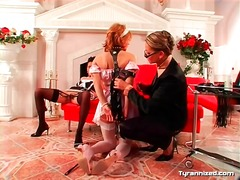 Alpha Porno - Two french maids in submission to beautiful girl