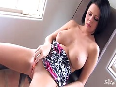 Loni evans with giant melons and clea...
