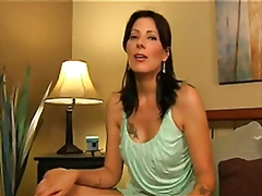Zoey Taboo gives a hot handjobs to a ...