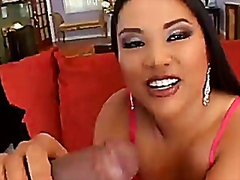 Ashley Marie Strips And Gets A Big Bl...