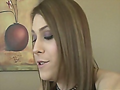 Blonde TS prostitute Jade Downing anal