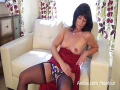 First time porn mom fucks her needy twat