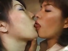 Japanese mature lesbian (kissing fetish)