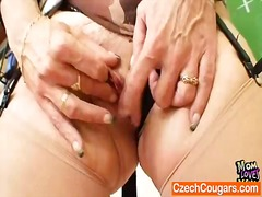 Ah-Me - Cougar teacher loves to masturbate after school