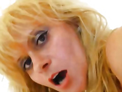 H2porn - Vag fucking plus a fake cock with madame blonde