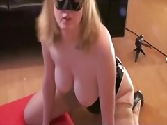 Private Home Clips - bunny wife rides her black rod