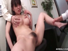 Big boobs japanese girl groped in porn