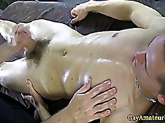 Vporn - Straight uncut guy with cum all over him